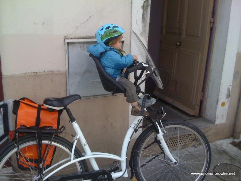 Si Loin Si Proche - Porte bébé pour vélo
